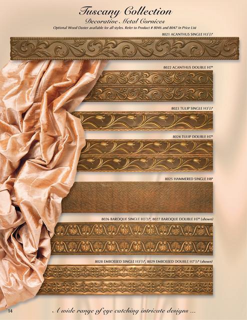 Wrought Iron Cornice : Metal cornice i valance boards orion