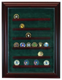 36 Coin Cabinet Style Display Case - Traditional - Storage And ...
