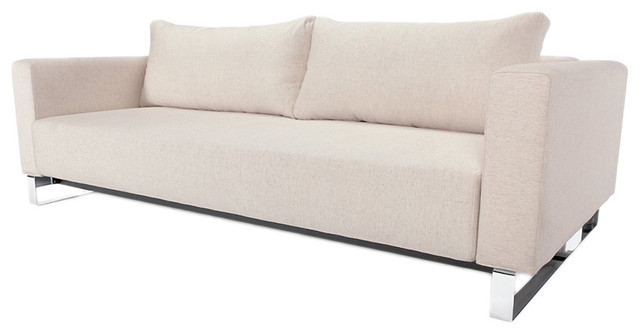 Innovation living cassius sleek excess natural convertible for Ava chaise lounge