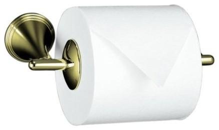 KOHLER K 361 AF Finial Traditional Toilet Tissue Holder Contemporary Toil