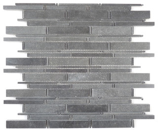 grey polished stone bauhaus look mosaikfliesen von. Black Bedroom Furniture Sets. Home Design Ideas