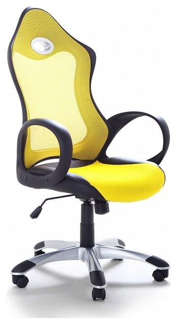 chaise de bureau fauteuil design jaune ichair contemporain chaise de bureau par. Black Bedroom Furniture Sets. Home Design Ideas