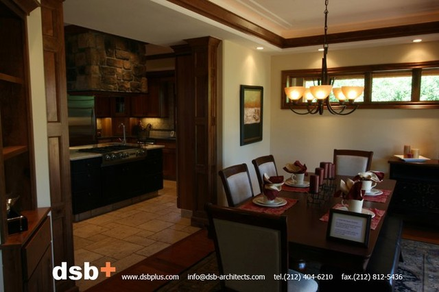 Monroe Residence Traditional Dining Room New York By Dsb