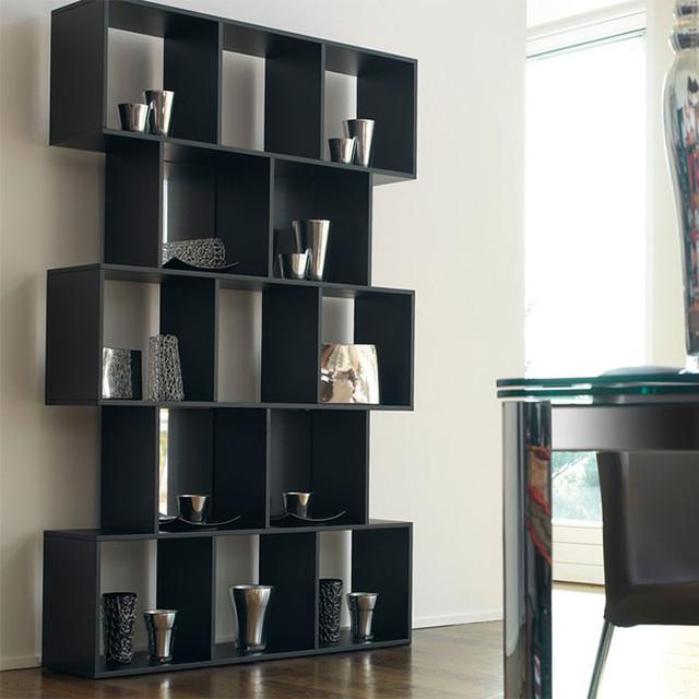 Antonello Alberta Bookcase Contemporary Bookcases