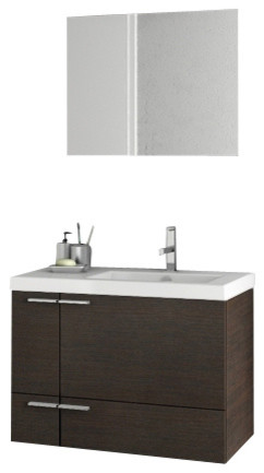 31 inch wenge bathroom vanity set modern bathroom