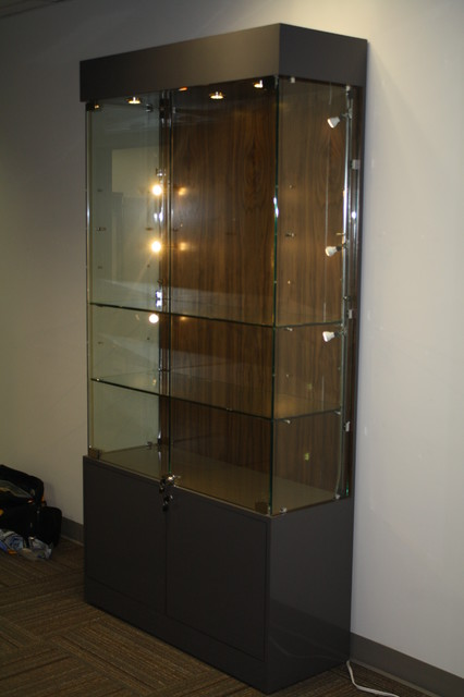 modern glass display cabinets 2