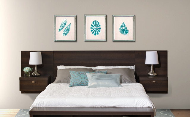 how to hang floating headboard 3