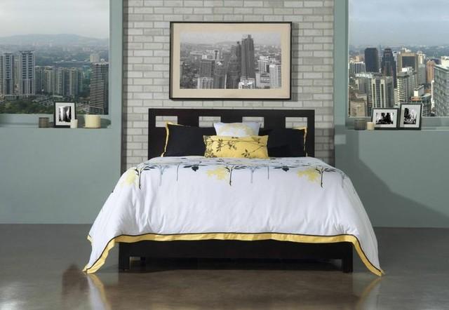 Riva Queen-Platform Storage Bed, Modus Furniture