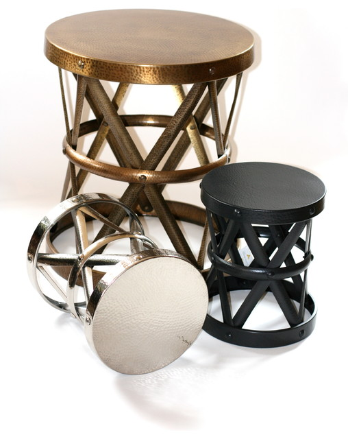 Metal Side Stool Contemporary Side Tables Amp End Tables