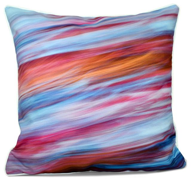 Inside out designs pillow pink light blue dark yellow for Insider design pillow
