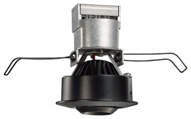 LED Juno Low Voltage 35 Degree Black Mini Gimbal Downlight - Contemporary - Recessed Lighting ...