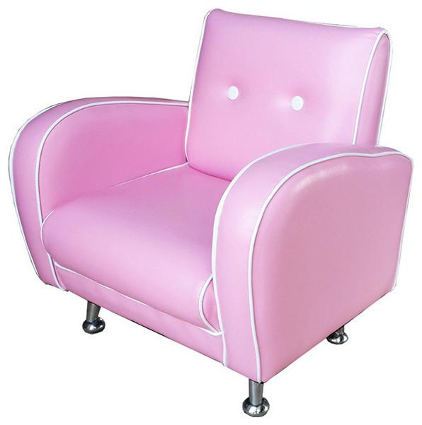 Red Vanilla Kids Flambay Pink Mini Arm Chair