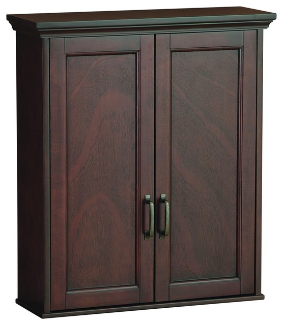 Foremost ASGW2327 Ashburn Wall Cabinet in Mahogany - Traditional - Bathroom Cabinets And Shelves ...