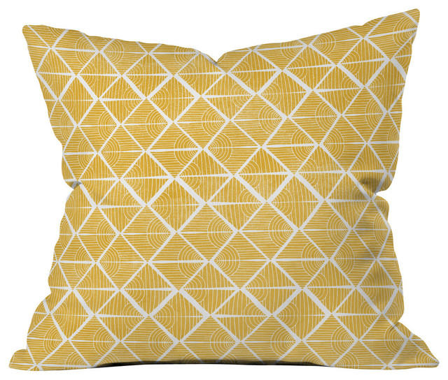 Loni Harris Cooking Time Outdoor Throw Pillow - Modern - Outdoor Cushions And Pillows - by DENY ...