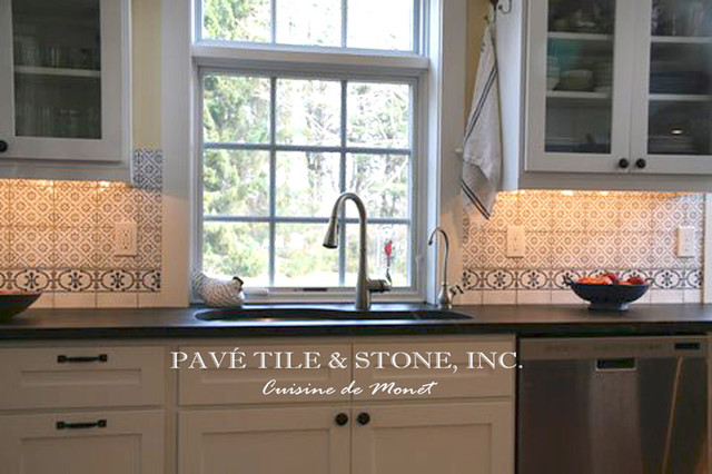 Traditional tile for Traditional kitchen wall tiles