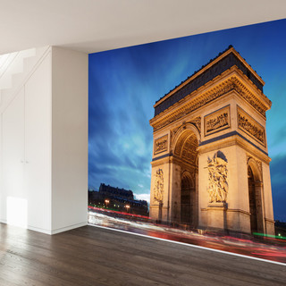 Arc de triomphe wall mural decal 4 panel contemporary for Arc de triomphe wall mural