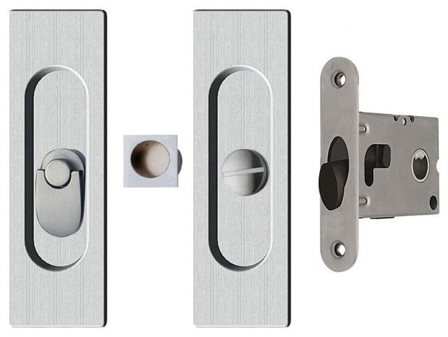 Pocket Door Hardware - Contemporary - Pocket Door Hardware - Miami - by Contemporary Door Hardware