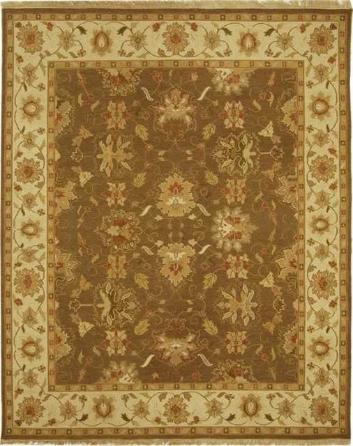 Safavieh Sumak SUM418A Brown Ivory 9 x12 Rug Farmhouse Area R
