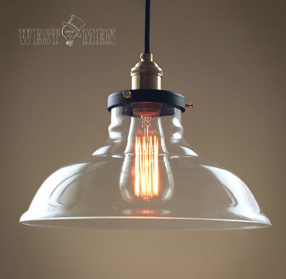 Vintage Industrial Style Pendant Lamp Kitchen Light