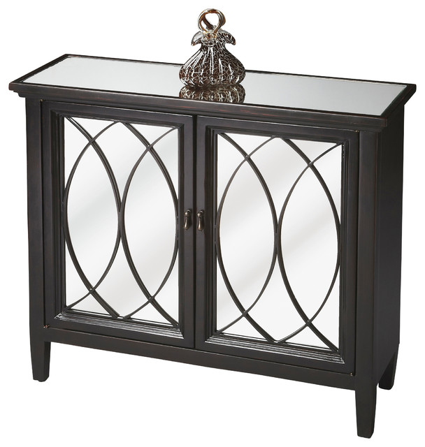 Console cabinet contemporary console tables by for Sofa table cabinet