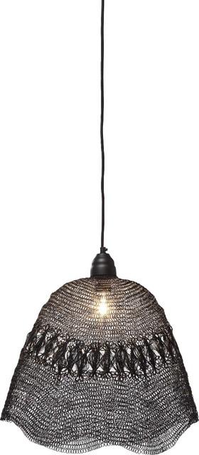 h ngelampe weave bag black modern pendelleuchten von kare design gmbh. Black Bedroom Furniture Sets. Home Design Ideas