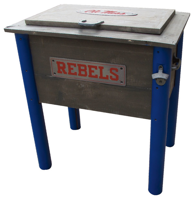 54 qt. Ole Miss Rebels Cooler - Traditional - Accent Chests And Cabinets - by Leigh Country