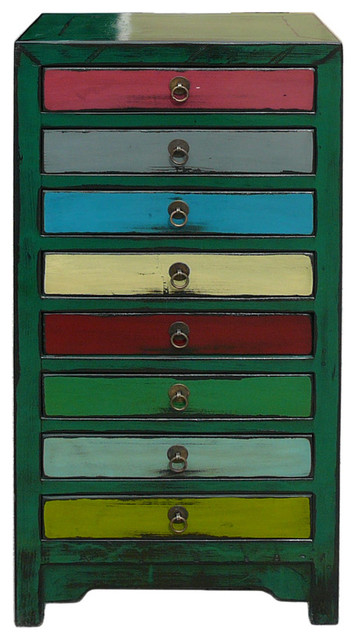 ... Color Green Theme 8 Drawers File Storage Cabinet asian-filing-cabinets