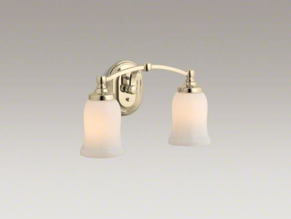 Kohler Bathroom Vanity Lights : KOHLER Bancroft(R) double wall sconce - Contemporary - Bathroom Vanity Lighting - by Kohler