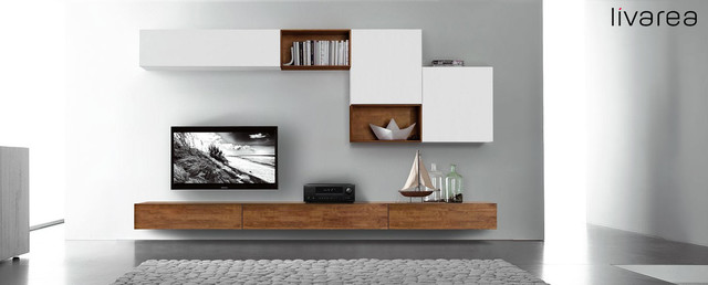massivholz tv m bel selber gestalten multimedia m bel tv w nde other metro von livarea. Black Bedroom Furniture Sets. Home Design Ideas
