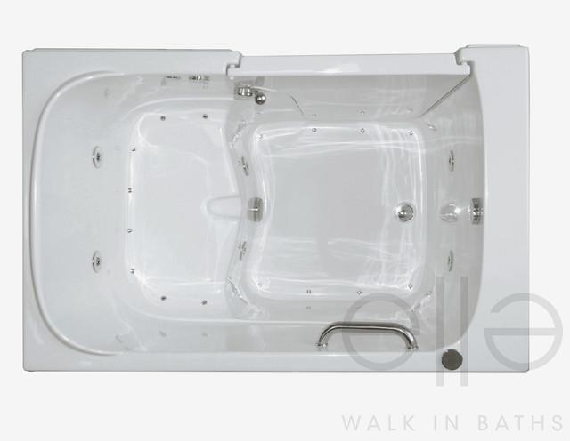 Bariatric 35x55 wide seat walk in bathtub for Wide tub