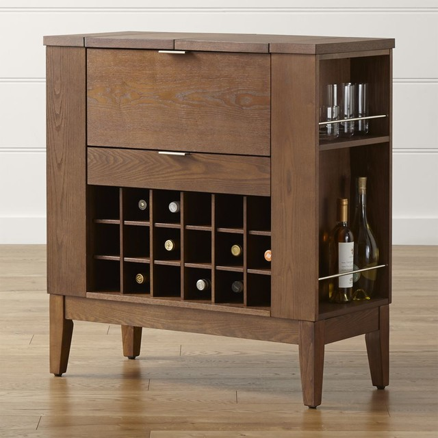 Parker Spirits Bourbon Cabinet - Contemporary - Storage Cabinets - by Crate&Barrel