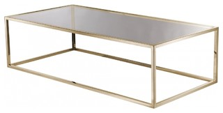 Couchtisch jacob messing glas modern coffee tables for Couchtisch 0836