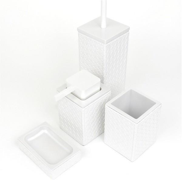 White bathroom accessories contemporary bathroom accessory sets london by plumbonline - Bathroom accessories london ...