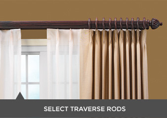 double traverse rods i curtain sheers rods i wood drapery rods wood