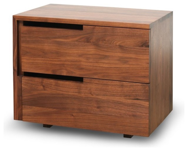 Solid Walnut Cabinets FACTORY DIRECT PRICES - Modern - Side Tables And End Tables - los angeles ...