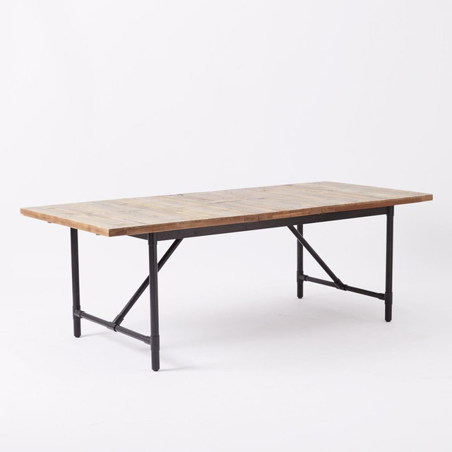 Emmerson Industrial Expandable Dining Table Industrial