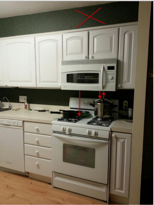 distance between top and bottom kitchen cabinets 3