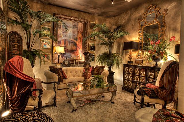 New showroom photos traditional living room houston for Showroom living room ideas