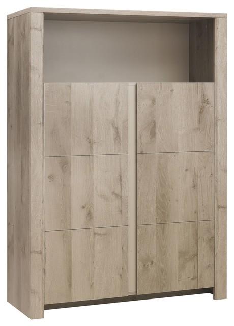 Sha vaisselier avec niche moderne vaisselier par alin a mobilier - Meuble vaisselier moderne ...