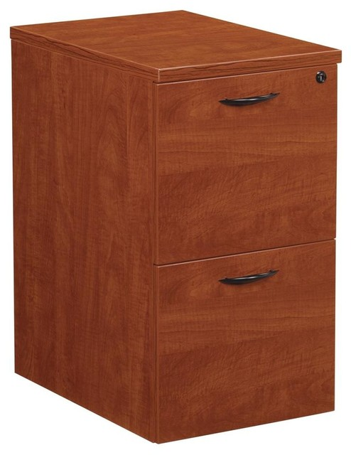 Napa Mobile File Pedestal w 2 Drawers - Contemporary - Filing Cabinets