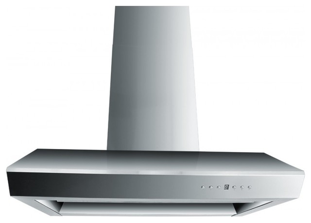 Zl682 Wall Mounted Range Hood 42 Chimney Short Kit For