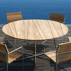 outdoor teak dining table set contemporary outdoor dining sets