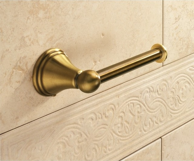 Classic Style Bronze Toilet Roll Holder 7524 44 Toilet