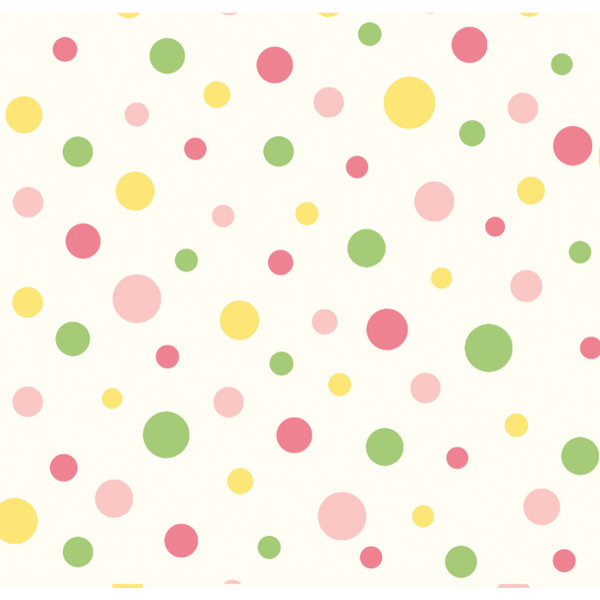 Circus Pink Polka Dot Wallpaper Wallpaper Swatch  : transitional wallpaper from www.houzz.com size 600 x 600 jpeg 44kB