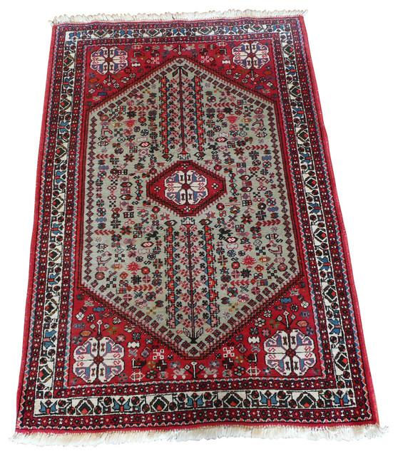 5x8 Hamadan Authentic Rugs Deals Direct Handmade Persian: 3'5x5'2 Antique Hamadan Rug
