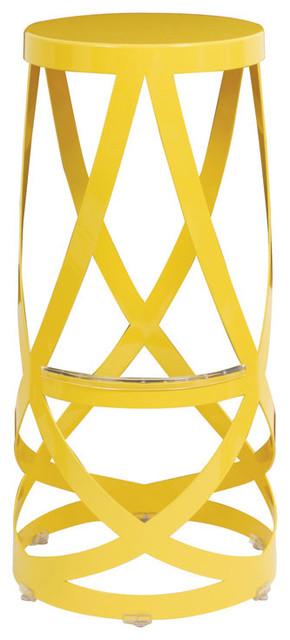 Capellini Ribbon Stool Contemporary Bar Stools And