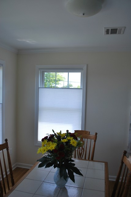 Top Down Bottom Up Shades Contemporary Cellular Shades New York By Asap Blinds