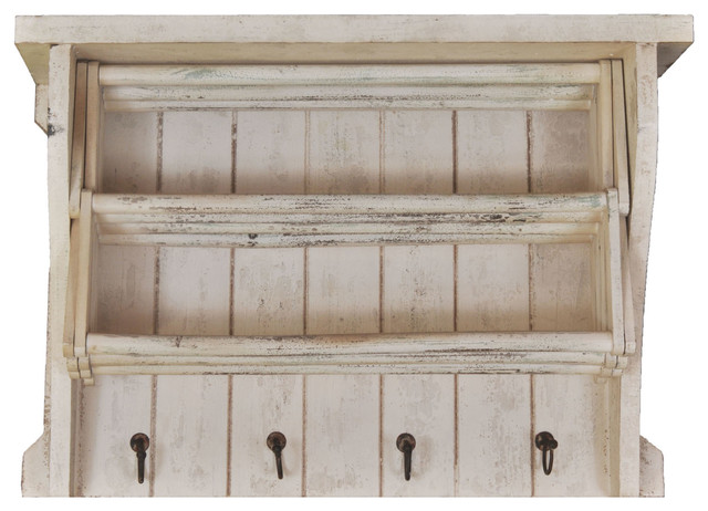 distressed white shelves 1