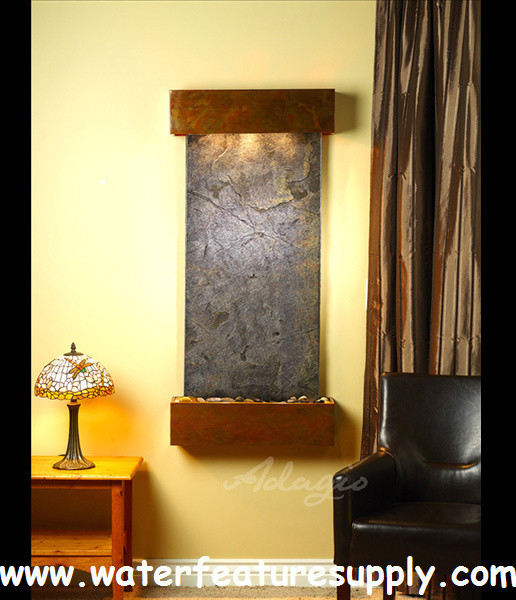 home fountains indoor moderne fontaine d 39 int rieur san diego par water feature supply llc. Black Bedroom Furniture Sets. Home Design Ideas