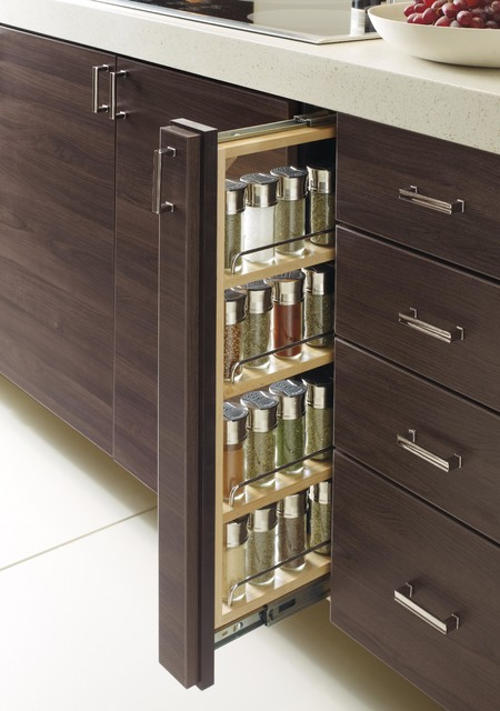 Organizing Features Pull Out Spice Rack Modern Spice